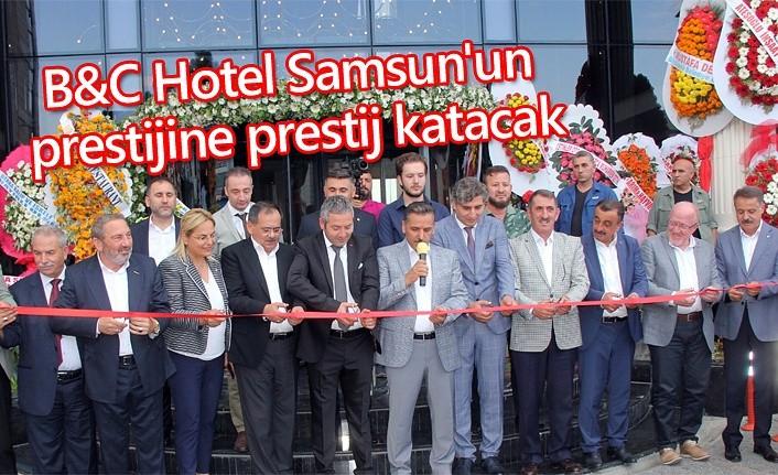 Samsun'un en iddialı hoteli hizmete girdi!