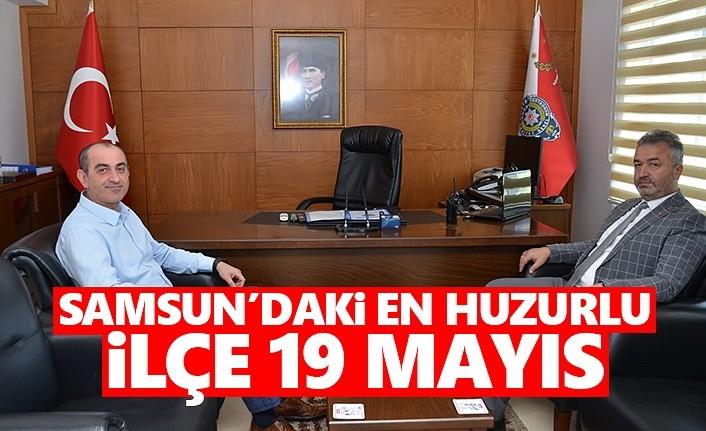 Samsun'daki En Huzurlu İlçe 19 Mayıs