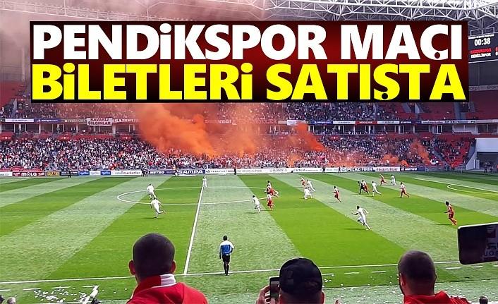 Samsunspor - Pendik maçı biletleri satışta