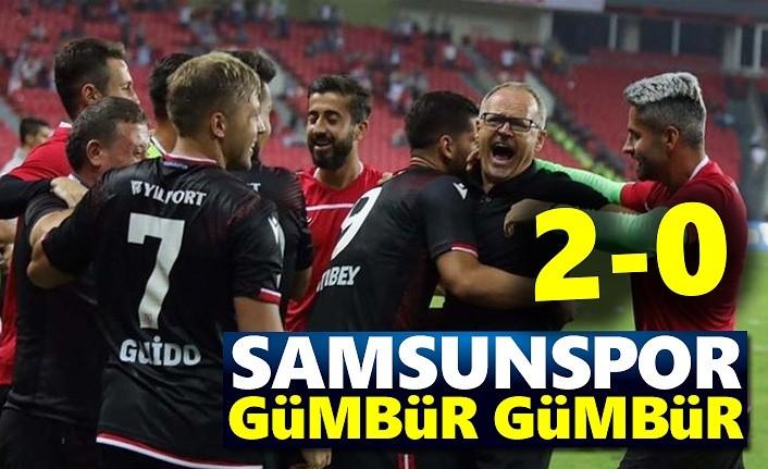Samsunspor-Pendikspor maç sonucu: Samsunspor 2 Pendikspor 0