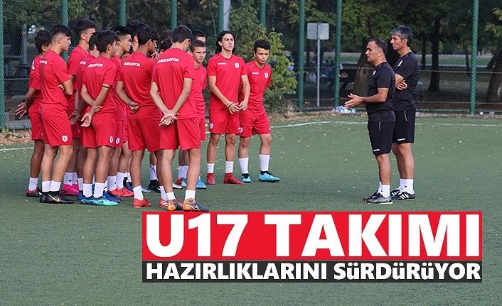 Samsunspor U17 Takımı Hazırlıklarını Sürdürüyor