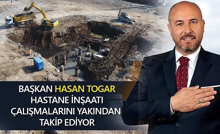 Tekkeköy Devlet Hastanesi inşaatı hızla devam ediyor