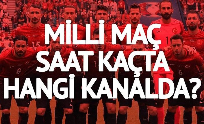 Türkiye Andorra maçı hangi kanalda, ne zaman oynanacak? Türkiye milli maçı saat kaçta?