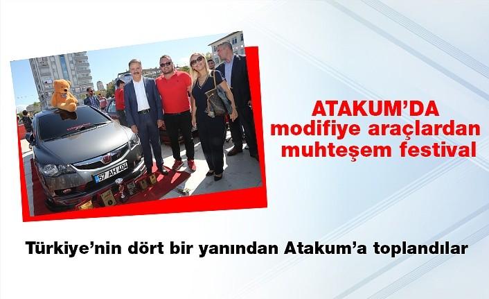 Türkiye'nin dört bir yanından  Atakum'da toplandılar