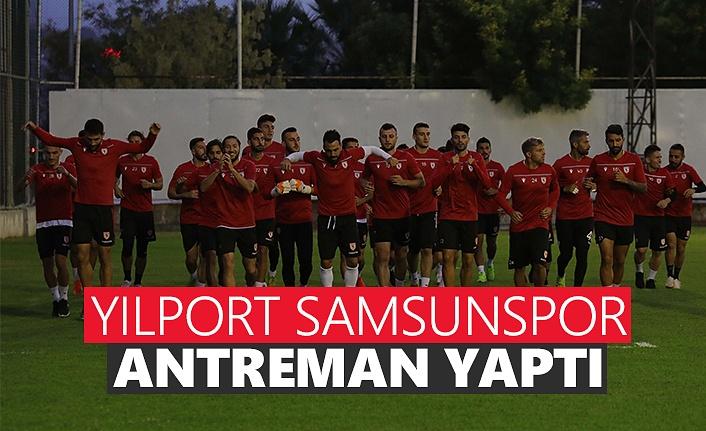 Yılport Samsunspor Antreman Yaptı