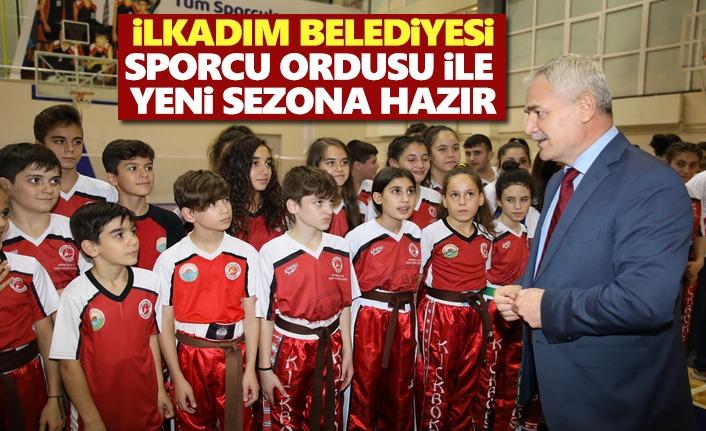 Başkan Demirtaş Sporcu ailemizle geleceği güzelleştiriyoruz