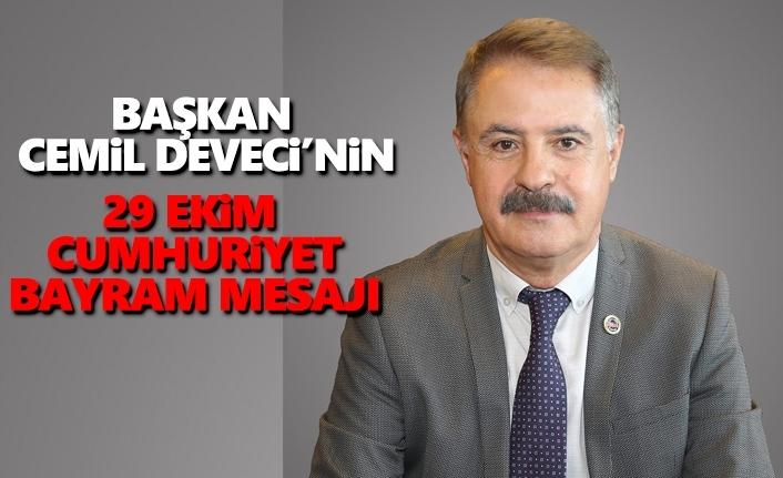 Başkan Deveci'den 29 Ekim Cumhuriyet Bayram Mesajı