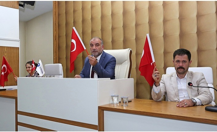 Canik'ten Barış Pınarı Harekatı'na destek