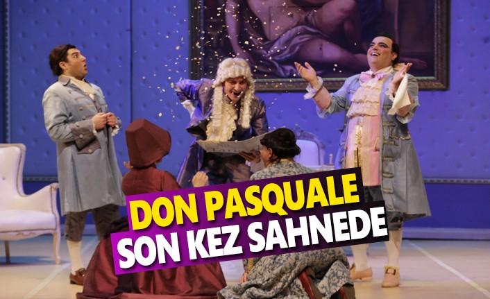 Don Pasquale Son Kez Sahnede