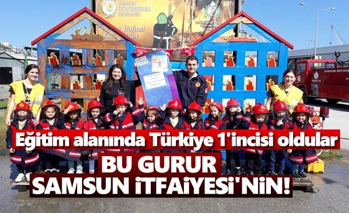 Eğitim alanında Türkiye 1'incisi oldular