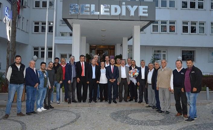 Esenyurt il Dernekler Birliği Platformu'ndan Başkan Özdemir'e ziyaret