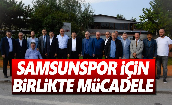 Kulüp yöneticileri ve STK temsilcileri, Başkan Demir ile buluştu