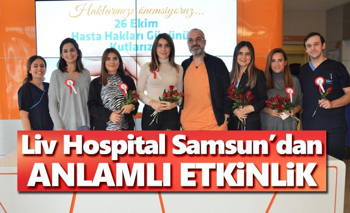 Liv Hospital'dan Hasta Hakları Günü'nde anlamlı etkinlik