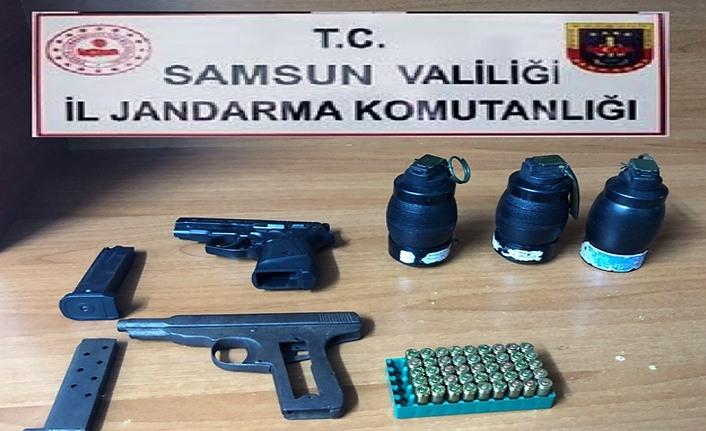 Samsun İl Jandarma'dan 19 Mayıs ilçesinde operasyon!