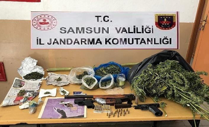 Samsun İl Jandarma suçlulara göz açtırmıyor!