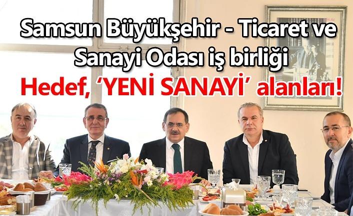 Samsun'un ekonomik gelişimi için iş birliği