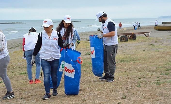 Samsun'da kıyı temizliği gerçekleştirildi!