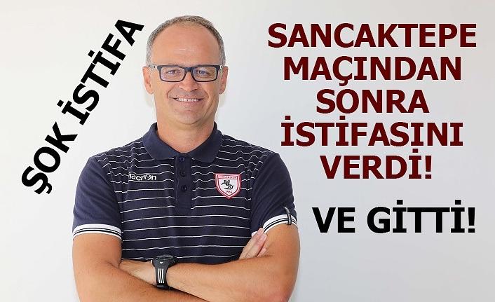 Samsunspor'da İrfan Buz istifa etti