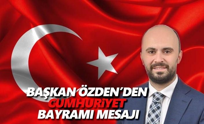 Taner Özden'den 29 Ekim Cumhuriyet Bayramı Mesajı
