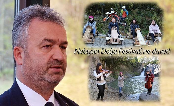 Başkan Topaloğlu'ndan Nebiyan Doğa Festivali'ne davet