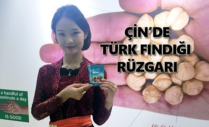 Çin'in Şanghay şehrinde Türk Fındığı'na büyük ilgi