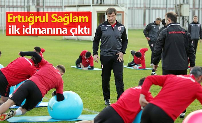 Samsunspor Haber - Ertuğrul Sağlam ilk idmanına çıktı