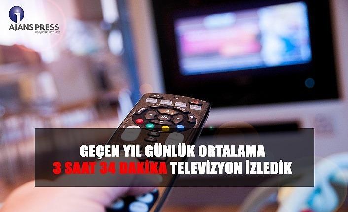 Günlük ortalama ne kadar televizyon izliyoruz?