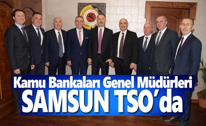 Kamu Bankaları Genel Müdürleri, Samsun TSO'da
