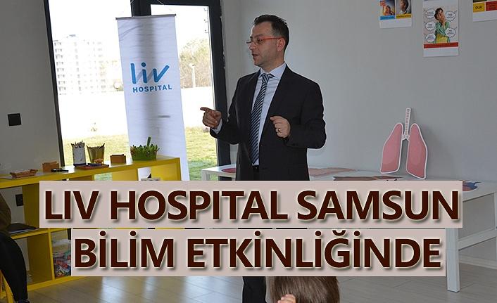 Liv Hospital Samsun Bilim Etkinliği'nde