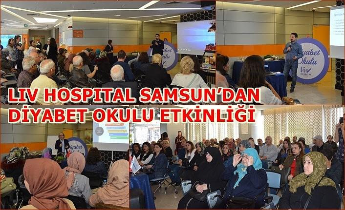 Liv Hospital Samsun'dan Diyabet Okulu Etkinliği