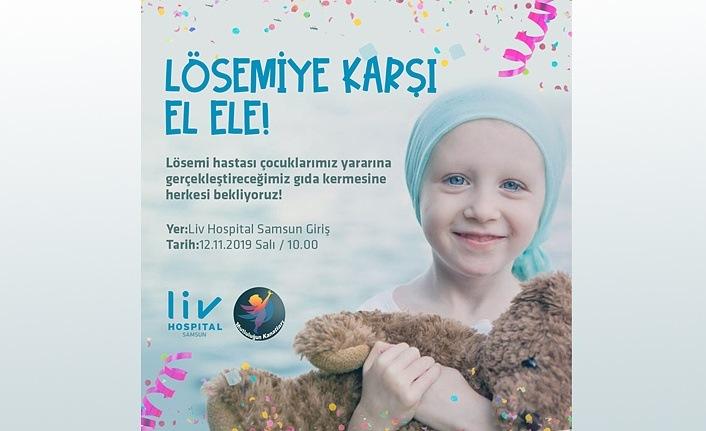 Liv Hospital Samsun'dan 'Lösemiye Karşı El Ele'