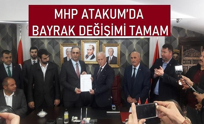 Murat Akoğlu MHP Atakum İlçe Başkanı oldu