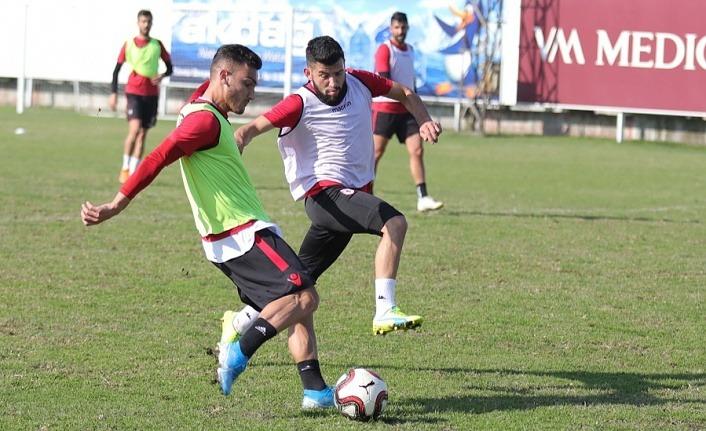 Samsunspor Hekimoğlu Trabzon maçı hazırlıklarına başladı