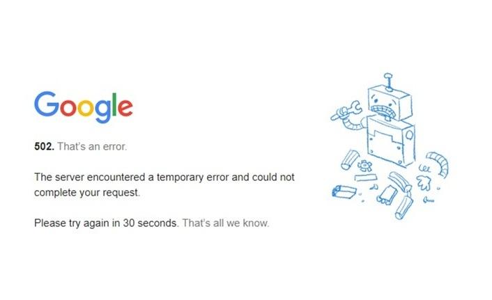 502 That's an error hatası nedir, nasıl çözülür?