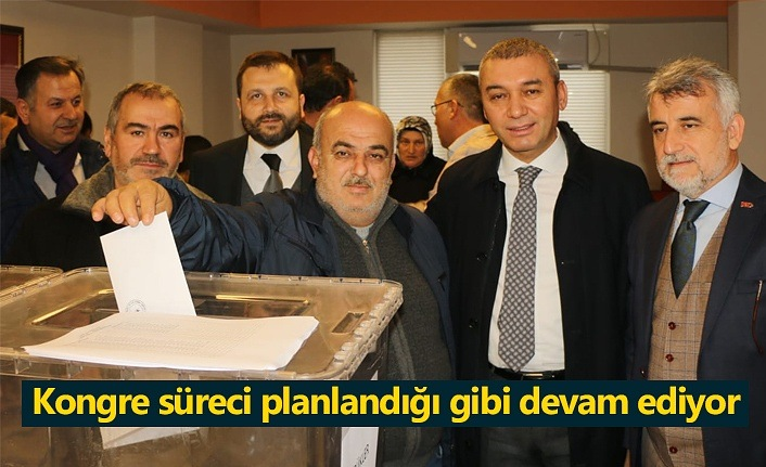AK Parti Samsun'da kongre süreci planlandığı gibi devam ediyor