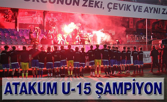 Atakum U-15 Şampiyon
