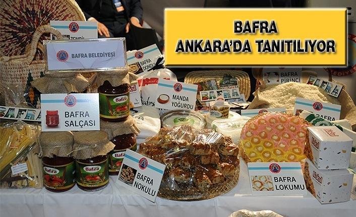 Bafra Ankara'da Tanıtılıyor