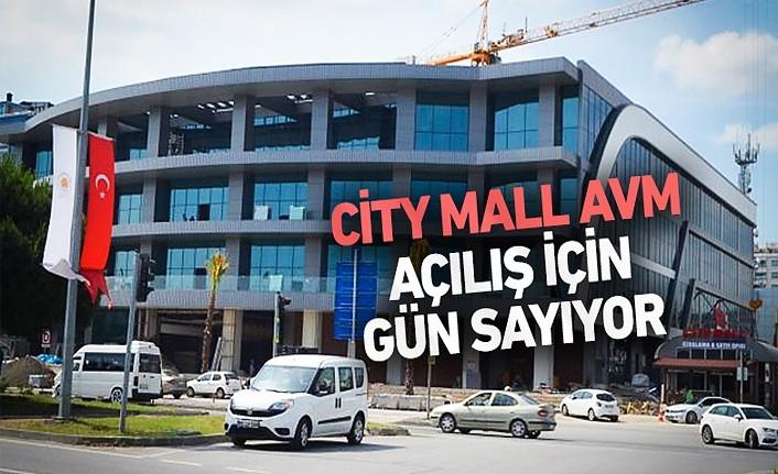 City Mall AVM çok yakında açılıyor