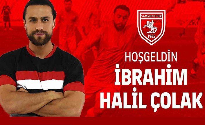 İbrahim Halil Çolak Yılport Samsunspor'da