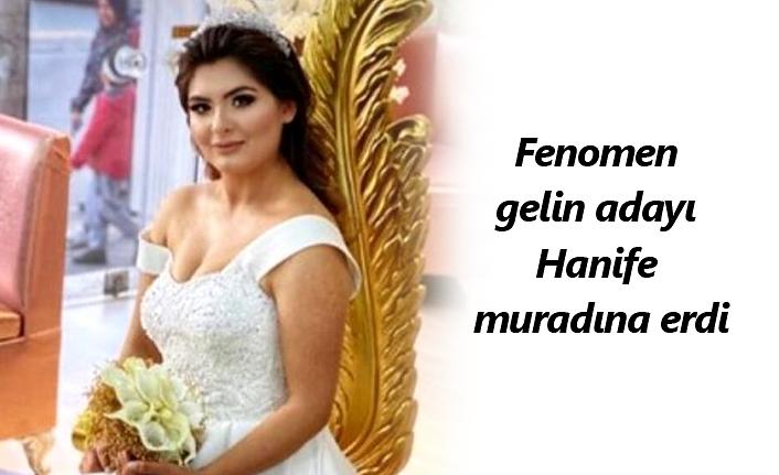 Hanife Gürdal sevgilisi Kemal Ayvaz ile evlendi