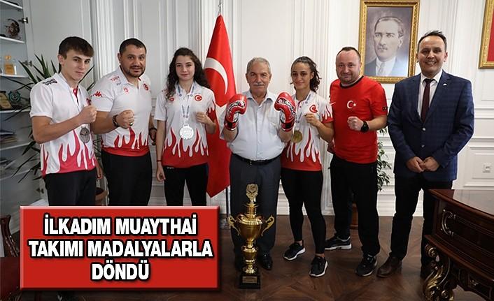 İlkadim Muaythai Takımı Madalyalarla Döndü
