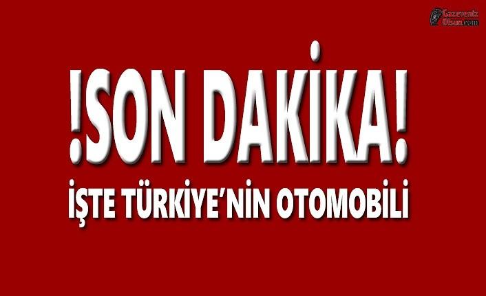İşte Türkiye'nin Otomobilinin Resimleri
