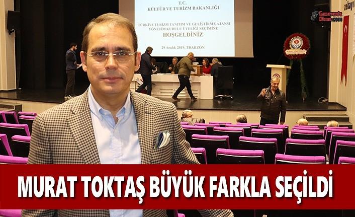 Otelciler Murat Toktaş'ı Büyük Farkla Seçti