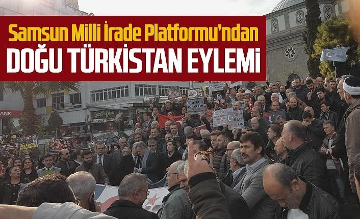 SAMİR'den Doğu Türkistan Eylemi