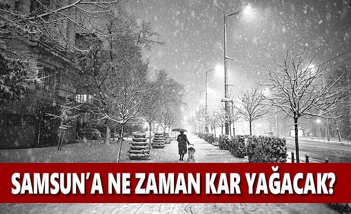 Samsun'a kar ne zaman yağacak? 26 Aralık Hava Durumu