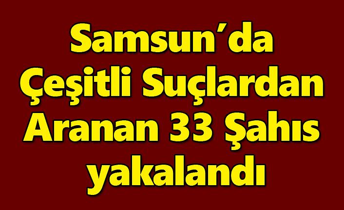 Samsun'da 'Huzur Güven Uygulaması' yapıldı