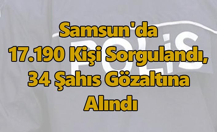 Samsun'da Huzur Güven Uygulaması