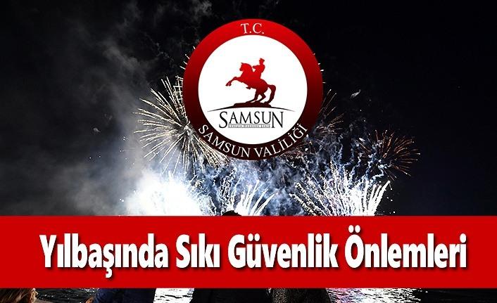 Samsun'da Yılbaşında Sıkı Güvenlik Önlemleri Alındı