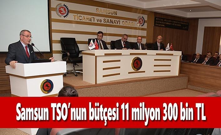 Samsun TSO'nun Bütçesi 11 milyon 300 bin TL