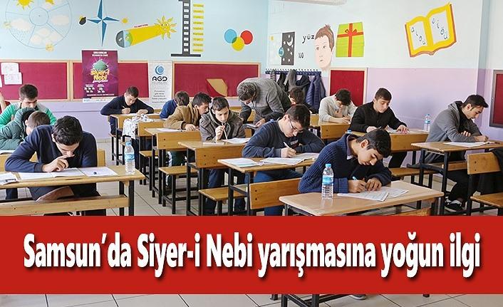 Samsun'da Siyer-i Nebi yarışmasına yoğun ilgi
